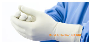 Стерильні рентген захисні рукавички
