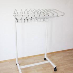Мобільна система зберігання рентген захисного одягу